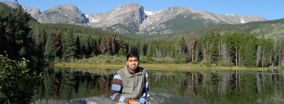 Naresh Jain at Rocky Mountains